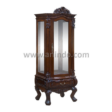 Carved China Cabinet
