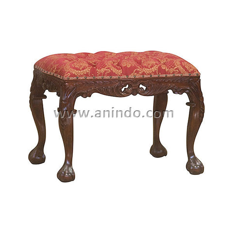 Heavy Carved Stool