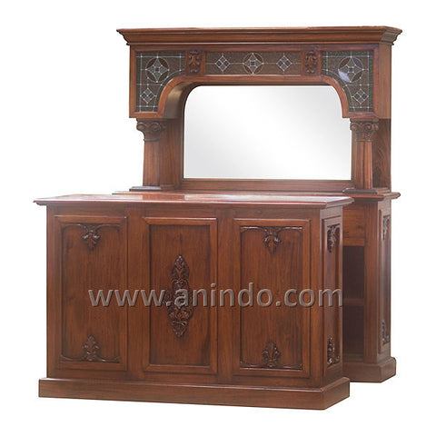 Reception Bar Cabinet