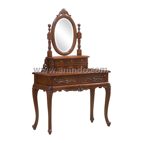 Carved Dressing Table