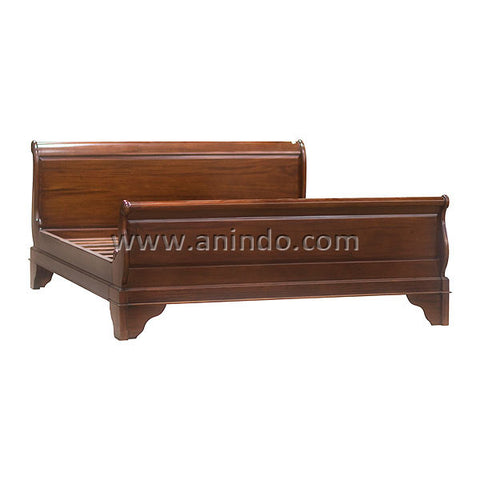 French Sleigh Bed