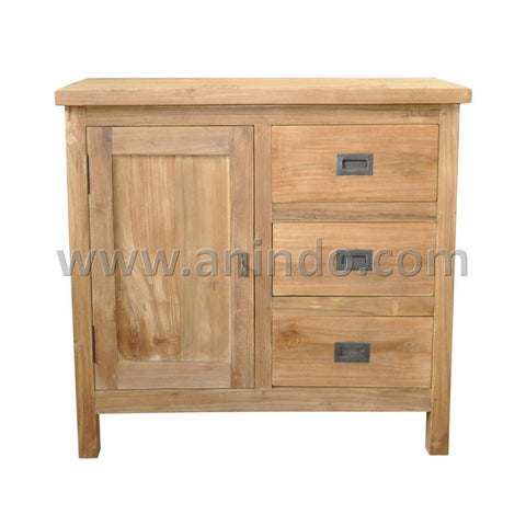 Dresser 1 Door 3 Drawers