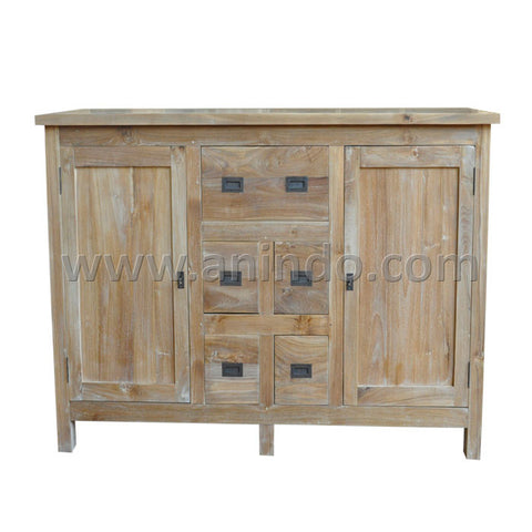 Dresser 2 Doors 5 Drawers