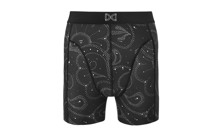 Double Dutch Boxershort for Men | Galactic Black