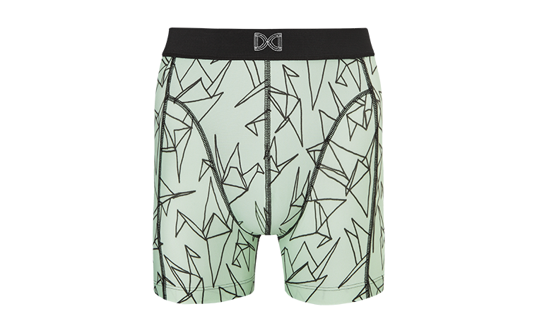 M!DS minty birds print front