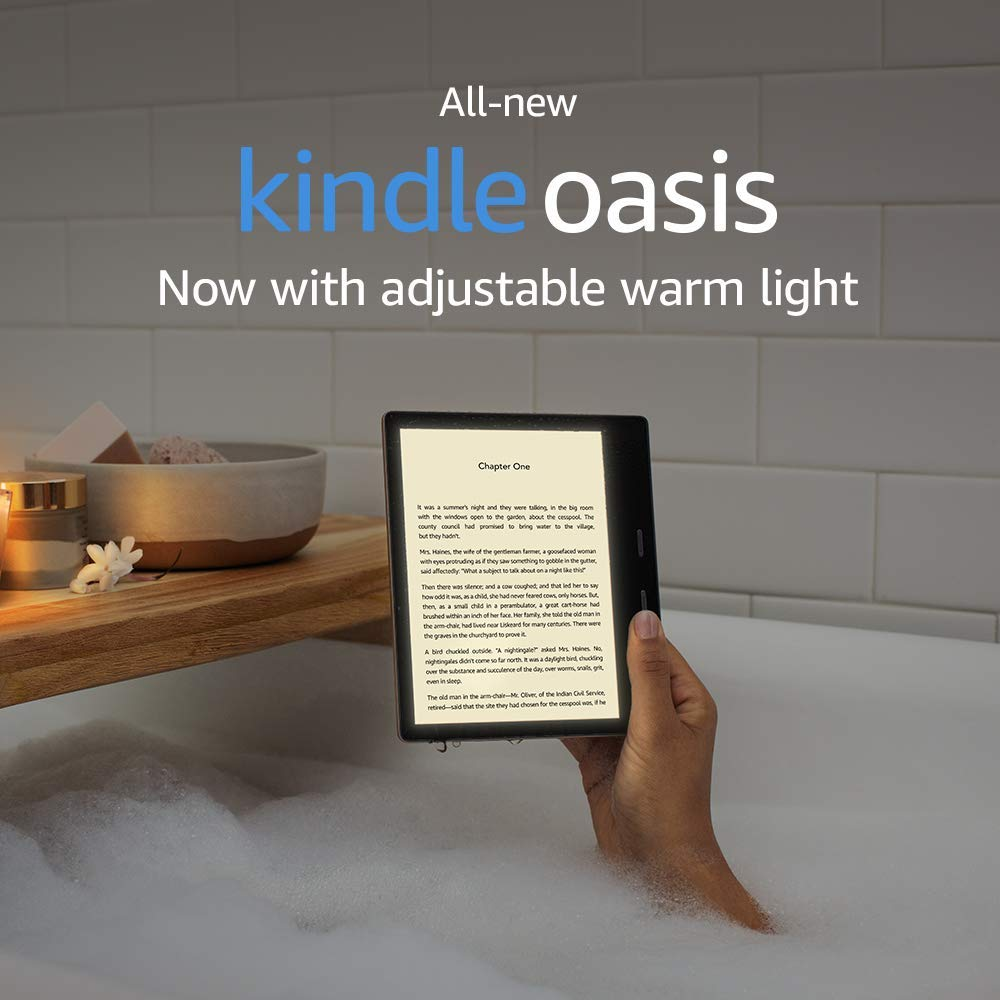 New Kindle Oasis 2019