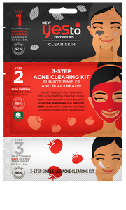 Yes To Tomatoes Clear Skin 3-Step Acne Clearing Kit