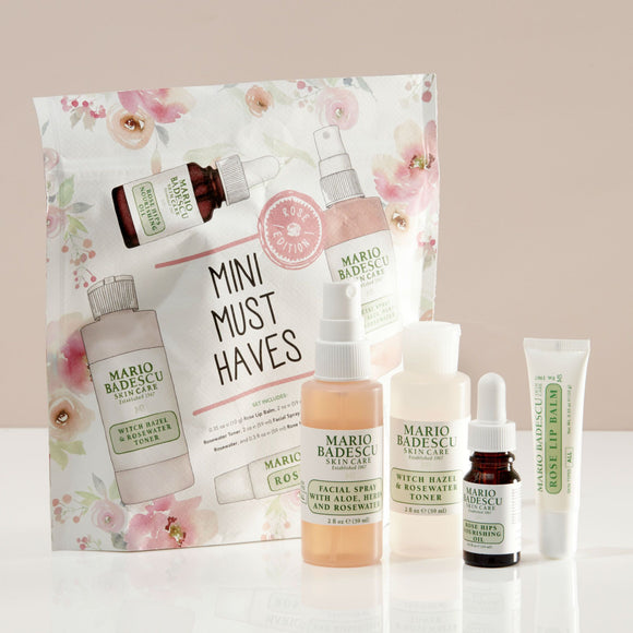 Mario Badescu Mini Must-Haves Rose Edition