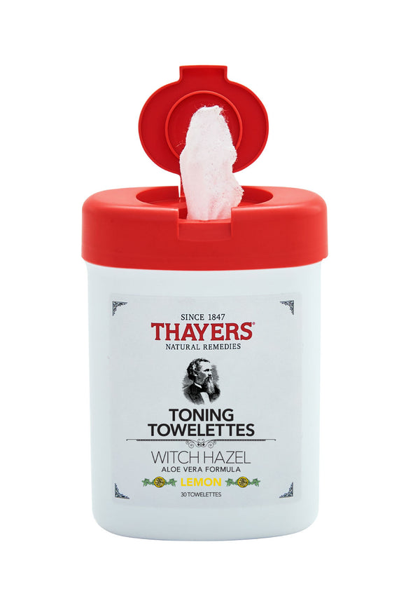 Thayers Toning Towelettes Lemon