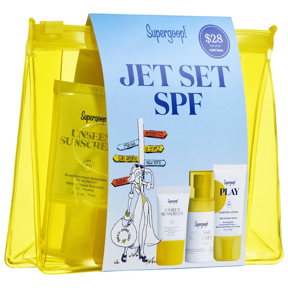 Supergoop! Jet Set Travel Kit