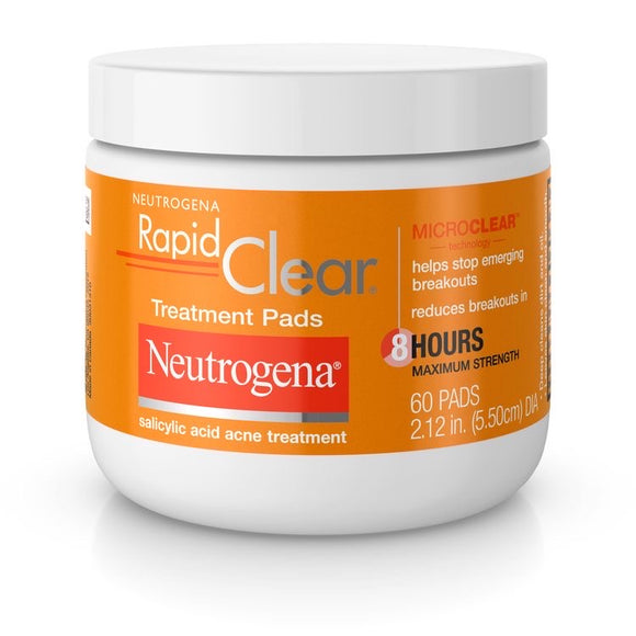 Neutrogena Rapid-Clear Treatment Pads 60s