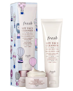 Fresh Cleanse & Moisturize Skincare Set
