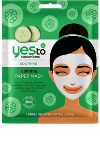 Yes To Cucumbers Calming Paper Mask