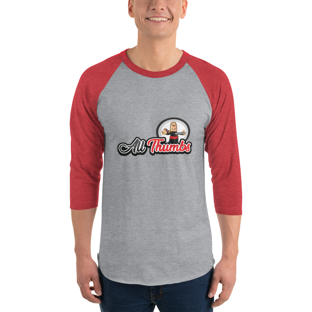 All Thumbs Baseball Shirt
