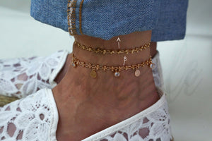THE CHARMING ANKLET SET - goldazzle