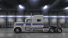 Load image into Gallery viewer, Angled Peterbilt Truck Stripe | TruckStripes.ca