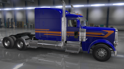 Peterbilt Mid-Triple Stripe