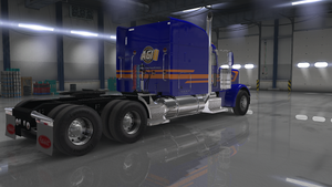 Peterbilt Mid-Triple Stripe - TruckStripes.ca