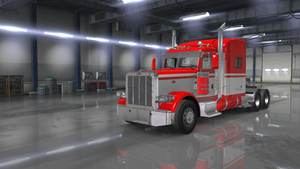 Peterbilt Triple Stripe Red - TruckStripes.ca