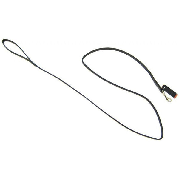 Circle T Leather Lead - 6' Long - Black