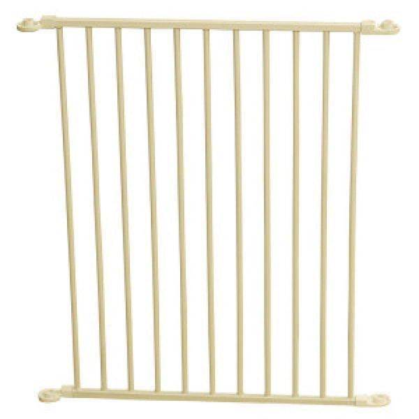 Carlson Pet Gates Flexi Walk Thru Gate Extension - Beige