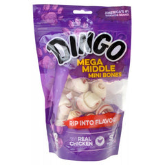 Dingo Double Meat Rawhide & Meat Chew Bone