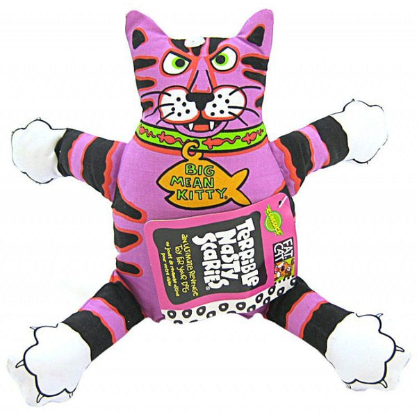 Fat Cat Terrible Nasty Scaries Dog Toy - Assorted