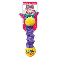 Kong Squiggles Plush Dog Pull Toy
