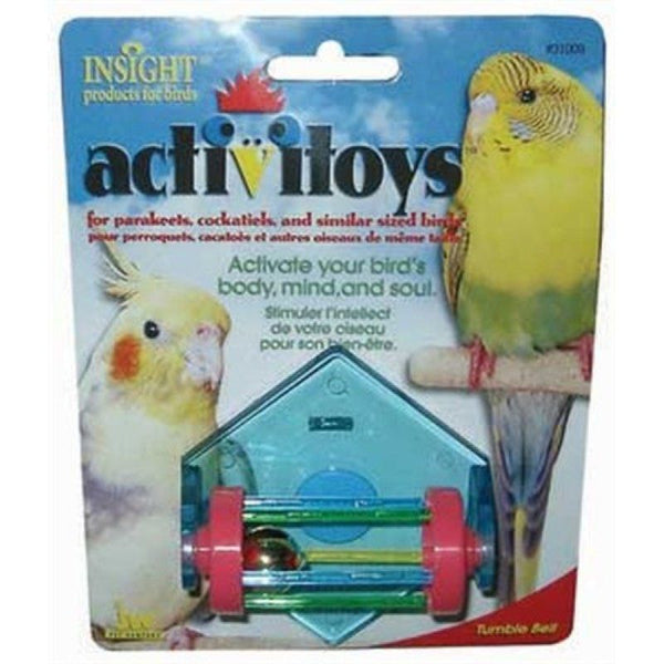 JW Insight Tumble Bell Bird Toy