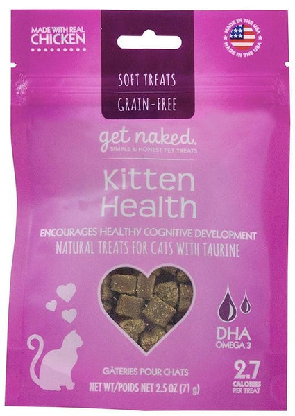 Get Naked Kitten Health Soft Natural Cat Treats