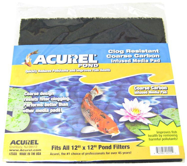 Acurel Coarse Carbon Infused Media Pad - Pond