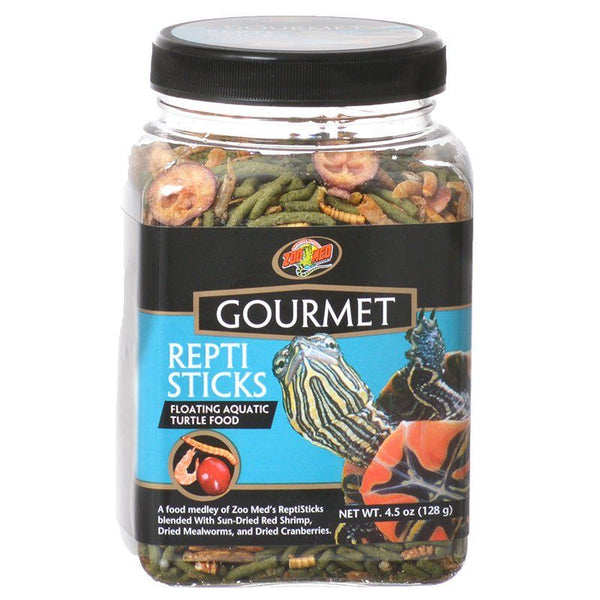 Zoo Med Gourmet Repti Sticks Floating Aquatic Turtle Food