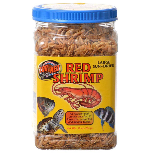 Zoo Med Large Sun-Dried Red Shrimp