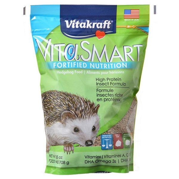 Vitakraft VitaSmart Hedgehog Food - High Protein Insect Formula