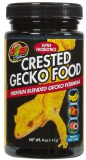 Zoo Med Crested Gecko Food - Tropical Fruit Flavor