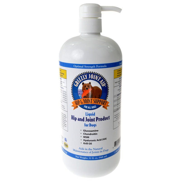 Grizzly Joint Aid Liquid Hip & Joint Product for Dogs