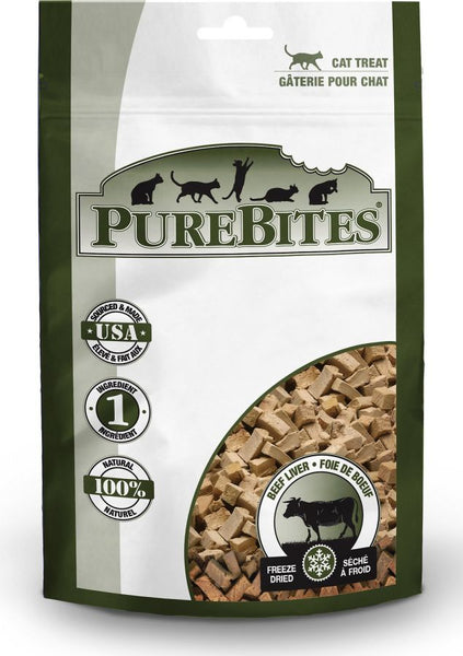 PureBites Beef Liver Freeze Dried Cat Treats