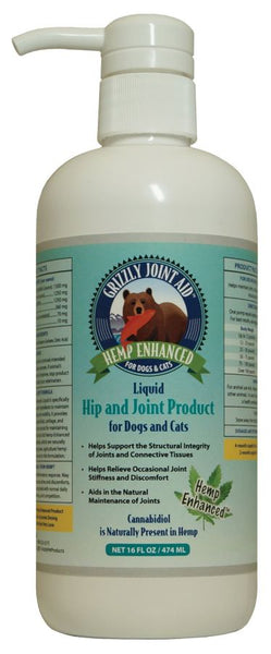 Grizzly Hemp Enhanced PCR Liquid Hip & Joint Product