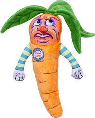 Fuzzu Steamed Vegetable Cranky Carrot Dog Toy