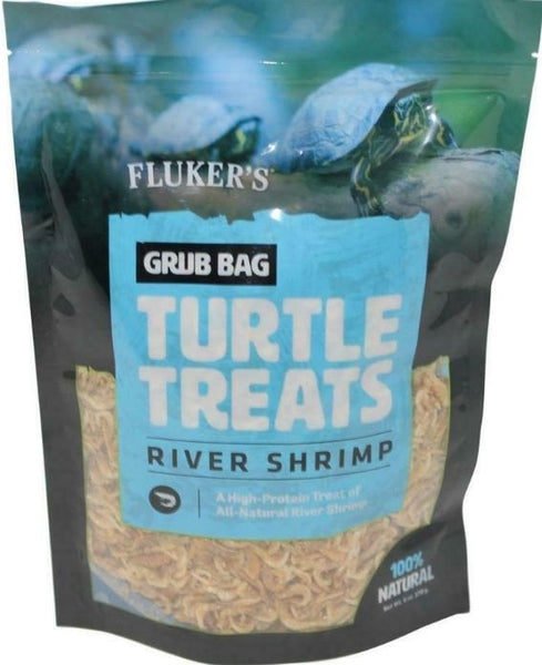 Flukers Grub Bag Turtle Treat - River Shrimp
