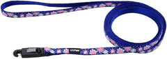 Li'L Pals Reflective Leash - Flowers with Dots