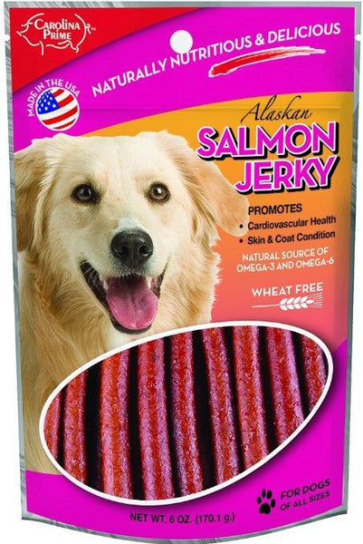 Carolina Prime Real Salmon Jerky Sticks
