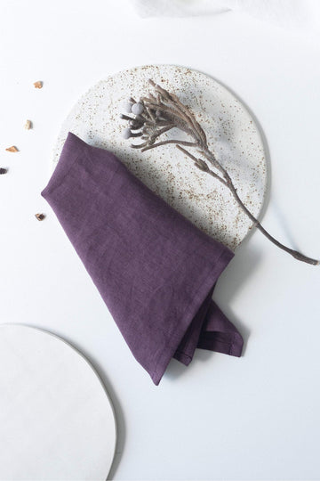 Plum Napkins Set Of 2