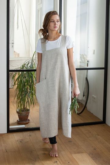 Japanese Linen Pinafore