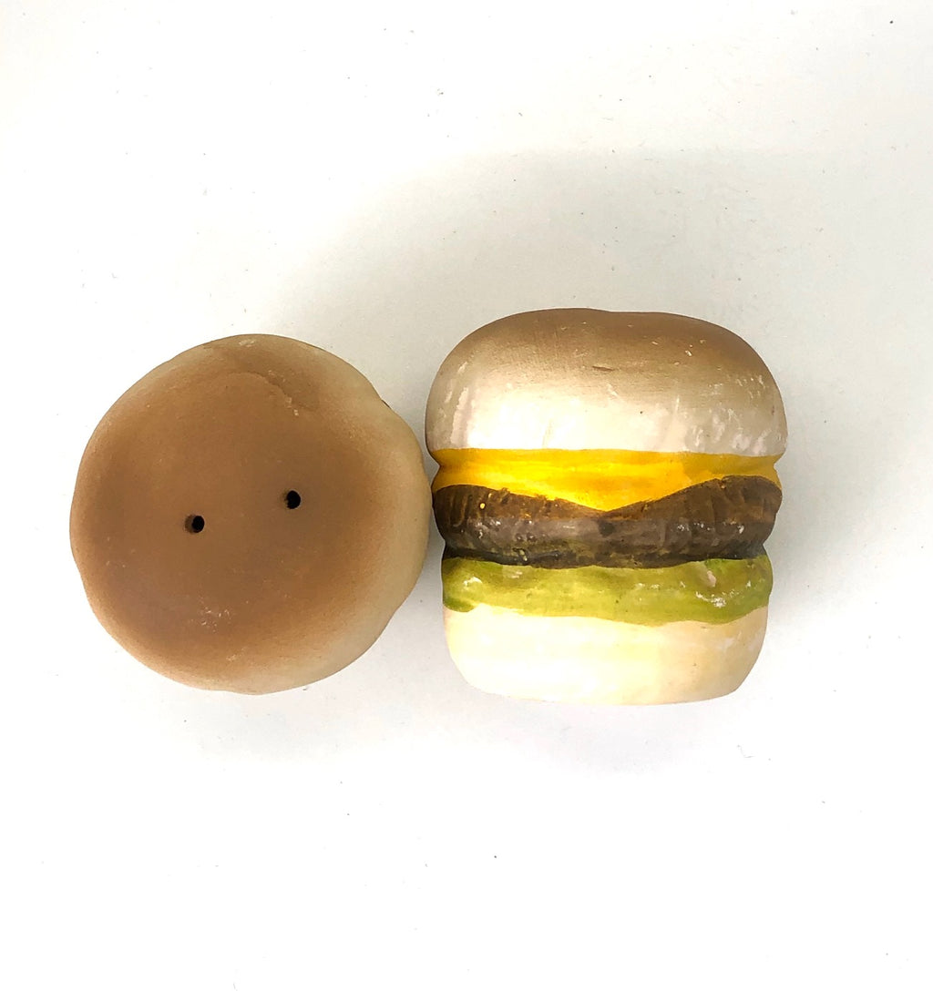 Cheeseburger Vintage Salt & Pepper Shakers