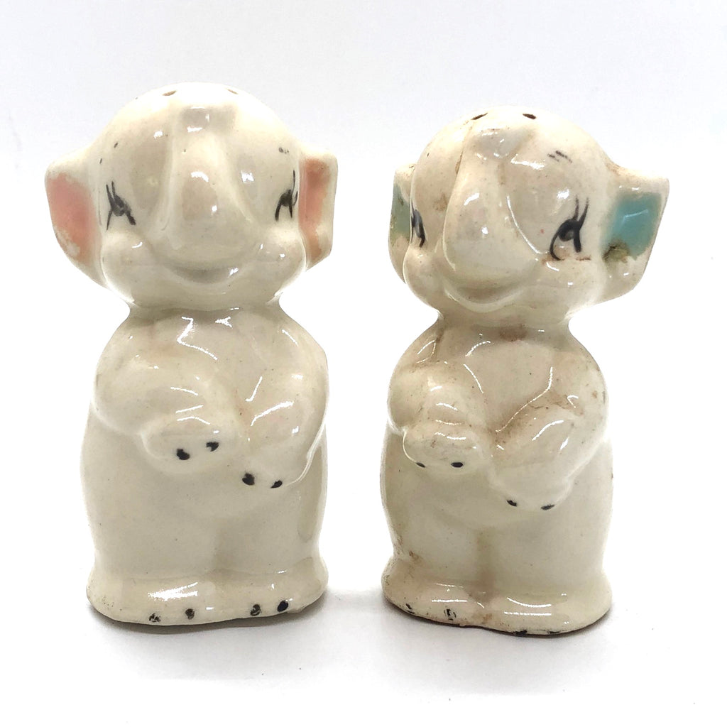 Little Elephant Vintage Salt & Pepper Shakers