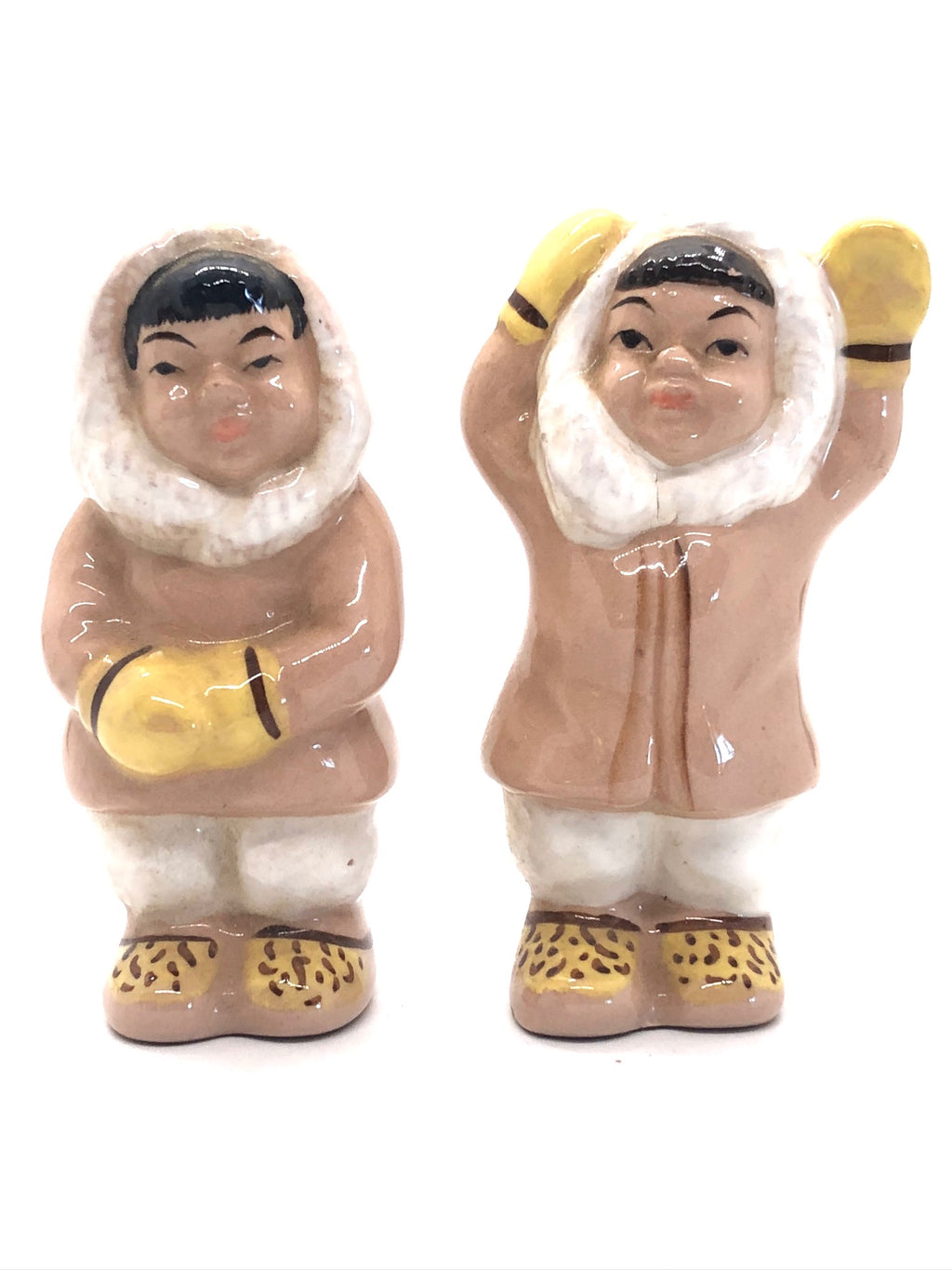Alaskan Pair of Vintage Salt & Pepper Shakers