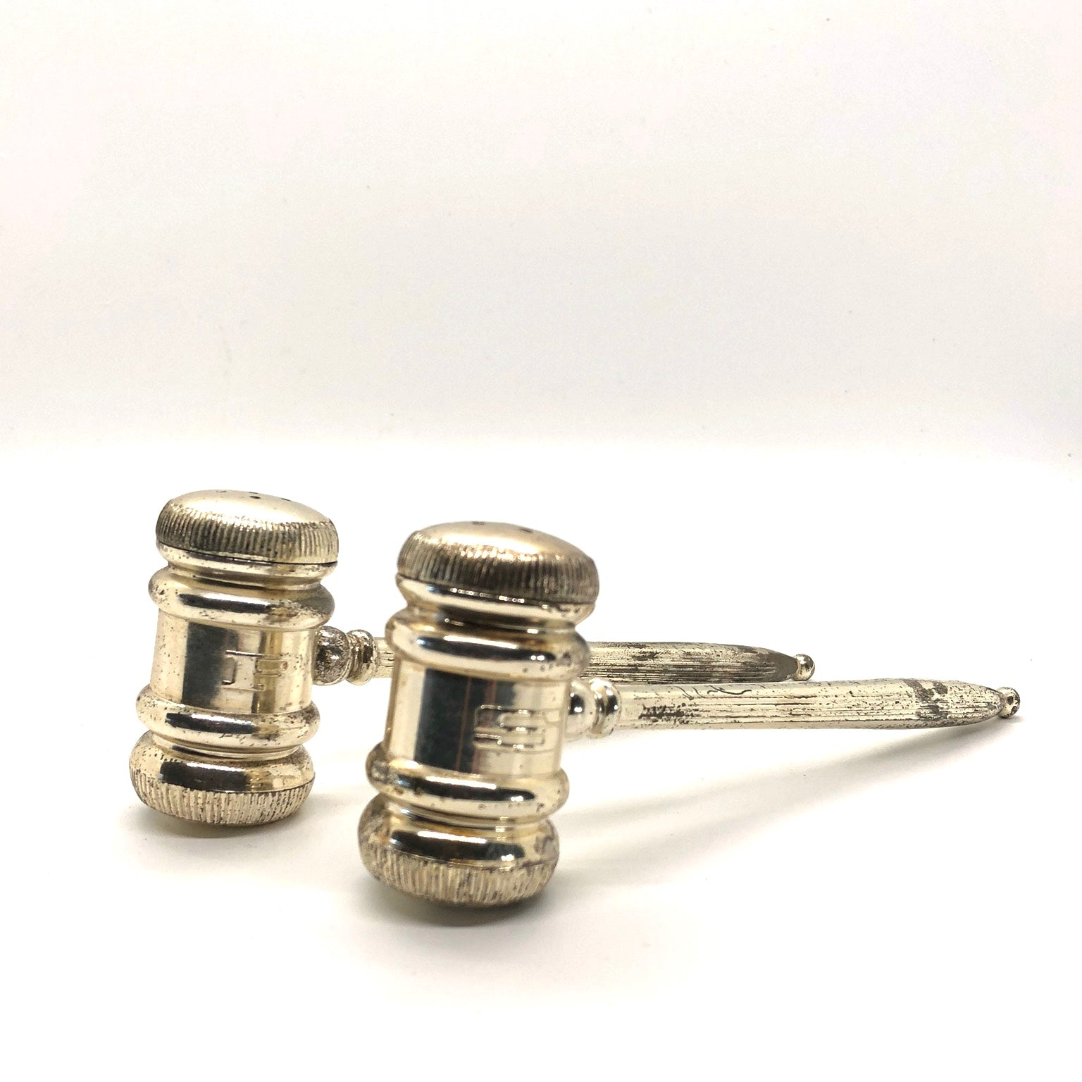 Gavel Salt & Pepper Shakers