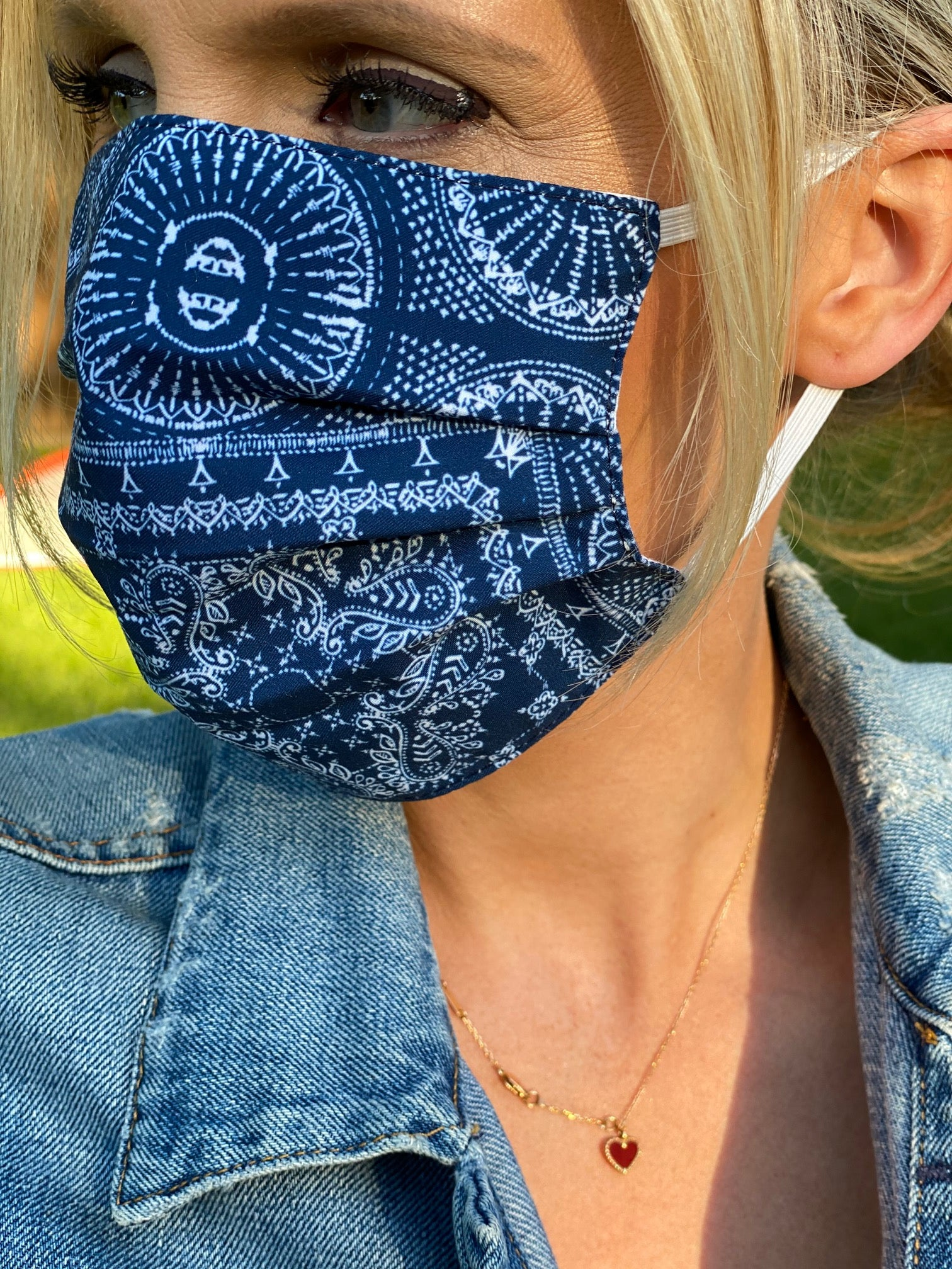 New! Jan & Jill Cotton Face Coverings (Non-Medical Masks)