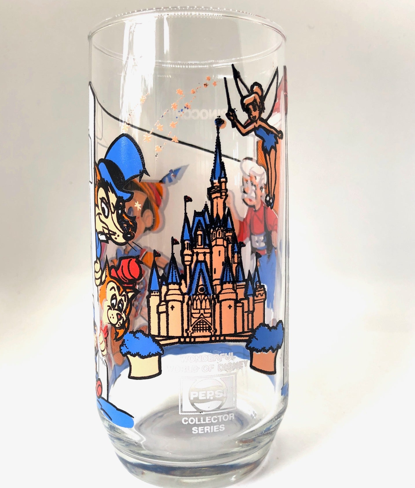Pepsi Collectors Series Disney Vintage Drinking Glasses (Set of 6)